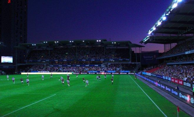 リヨンのサッカースタジアム Groupama Stadium - 行き方案内