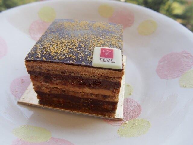 セーヴ SÈVEのチョコレートケーキ