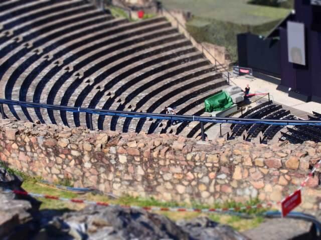 フルヴィエールの丘のガロ=ロマン劇場・古代ローマ博物館