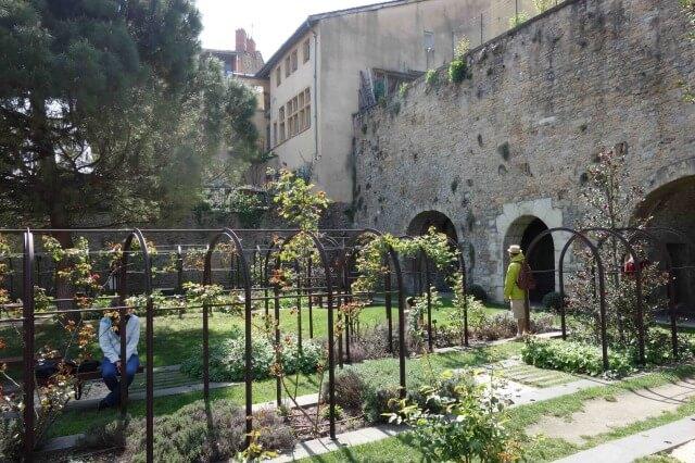 リヨン旧市街のガダーニュ美術館