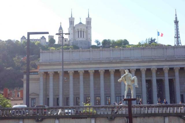 リヨン旧市街の裁判所