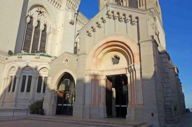 リヨンのフルヴィエール・ノートルダム大聖堂の礼拝堂