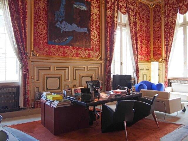 リヨン市庁舎の市長室