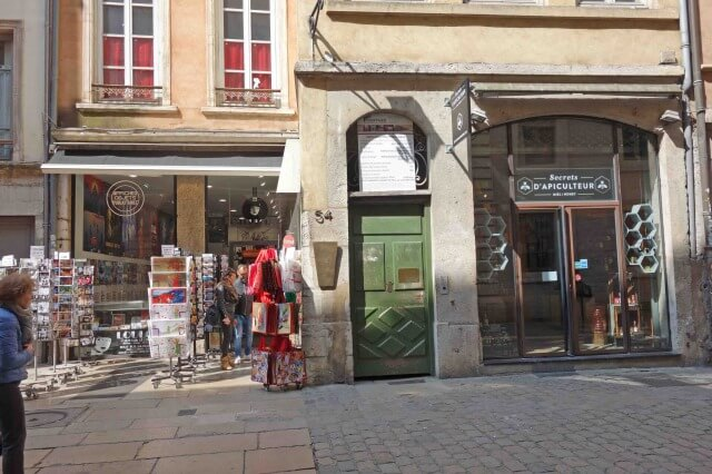 リヨン旧市街のトラブール
