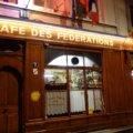テロー広場近くのいつも満員のブション Café des Fédérations