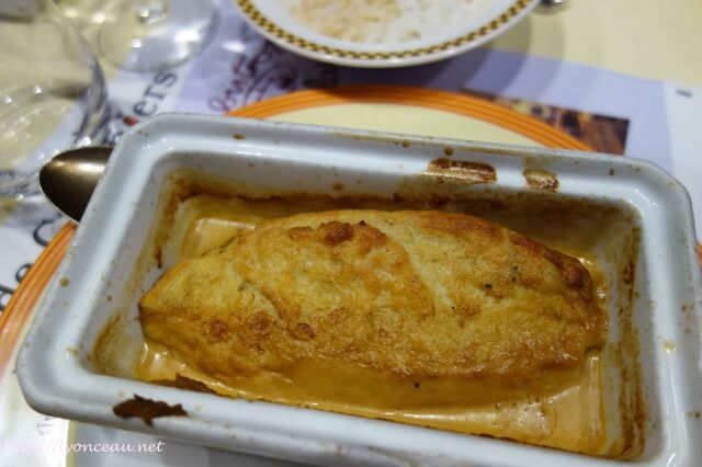 リヨンのクネル料理