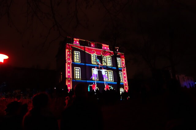 リヨンの光の祭典2018年