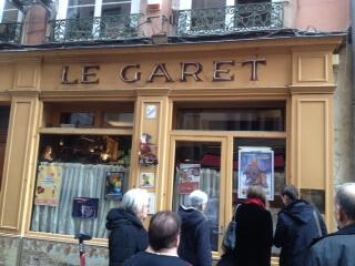 地元住民に人気のオペラ座近くのブション Le Garet(ル ギャレ)